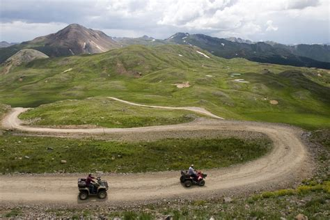 jeep trails near colorado springs four wheeling a winding trail in the san juan mountains