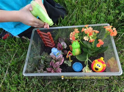 Garden Ideas For Toddlers Garden Project For Make A Toyrarium Inspiration Laboratories