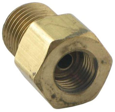 compare orifice connector vs replacement solenoid