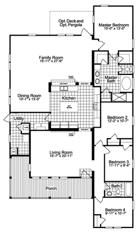modular home floor plans texas view the la linda ii floor plan for a 2389 sq ft palm