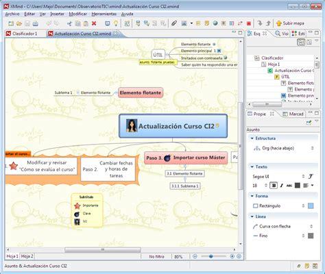 tutorial de xmind 2012 tecnologia per a tu crea mapas conceptuales con xmind