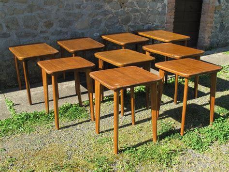 tavoli da osteria usati rovistando modernariato 20th century design lotto di