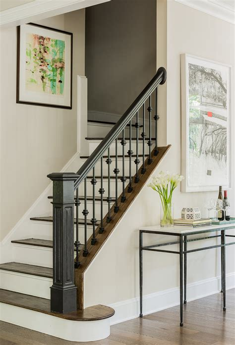 baroque stair rails fashion boston traditional staircase