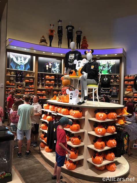tricks  treats  halloween merchandise lands  walt disney world allearsnet