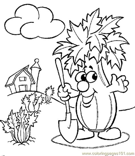 coloring pages vegetables vegetable coloring page 09 coloring page free vegetables