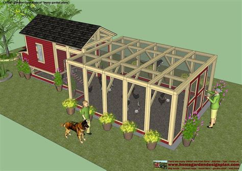 How To Build A Backyard Chicken Coop Simple Chicken Coops Chicken Coop Plans How To Build A Chicken Coop Backyard Chicken