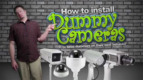 how to install a hidden camera in your bathroom how to install dummy security cameras to keep dummies on