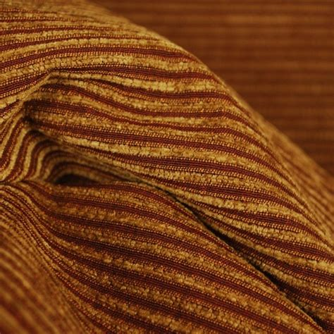 striped chenille upholstery fabric m8027 nutmeg chenille ribbed striped upholstery fabric