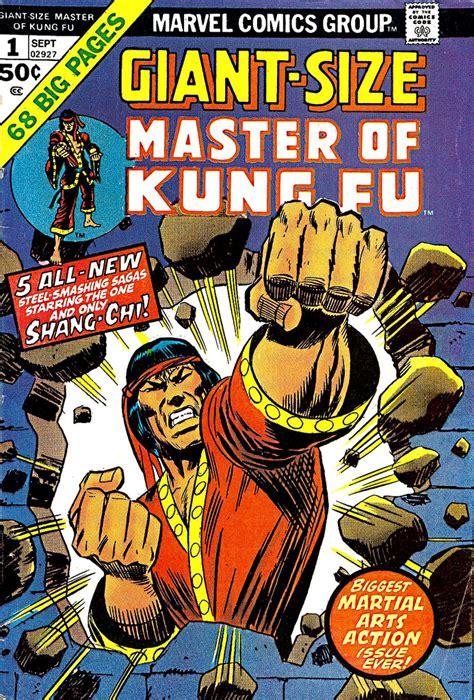 shang chi master of kung fu giant size marvel enter shang chi master of kung fu