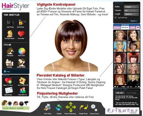mens virtual hair color changer frisurer com uploade dit billede pr 248 v frisure ideer og