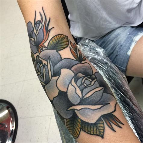 traditional rose tattoo sleeve 25 best ideas about traditional tattoos on