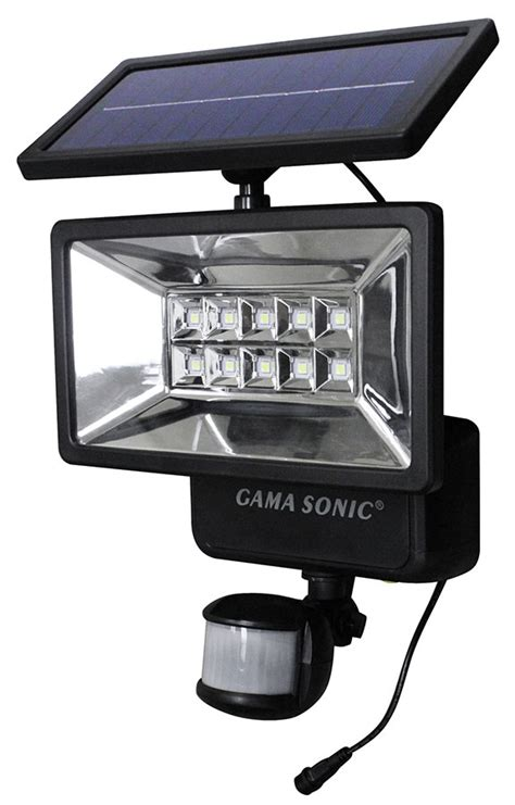 solar powered security lights with motion sensor gama sonic gs 10 solar motion sensor outdoor security light