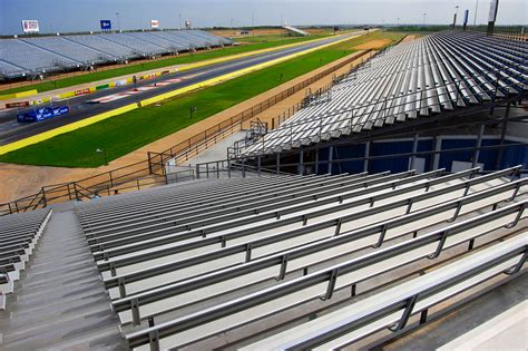texas motorplex seating map sturdisteel i beam grandstands permanent grandstands