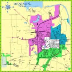 denison tx official website city maps