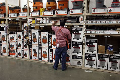 gregory rony in home depot posts 44 percent increase in