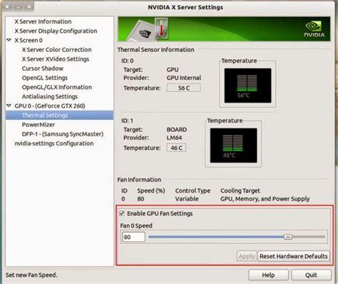 nvidia gpu fan control how to control adjust gpu fan speed for nvidia graphics