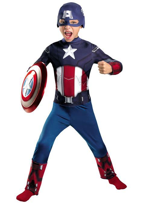 Costum Captain America captain america costume child avenger costumes