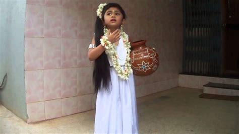 shakuntala fancy dress  anvitha rao youtube