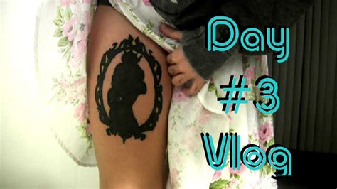 tattoo s healing process day 3 vlog likewowlala youtube