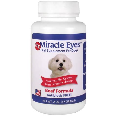 eye q supplement ingredients miracle tear stain reducer beef 2 oz entirelypets