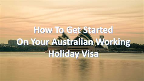 how to get starterd for chrismas how to get started on your australian working visa meanderwithmeg