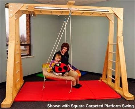 special needs swings indoor indoor therapy gym climbing swinging spinning gilding