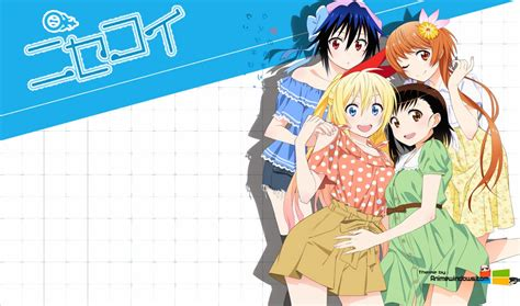 wallpaper laptop nisekoi nisekoi anime 3 cool hd wallpaper animewp com