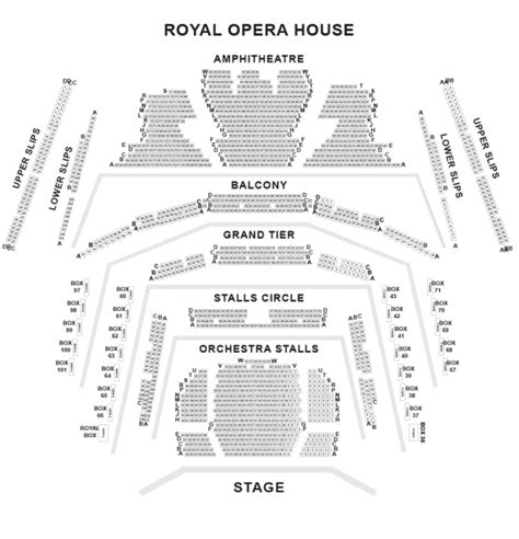 Opera House Seating Plan Royal Opera House Show Tickets And Information