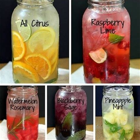 Do Blackberries Detox The by Fruit Herb Flavored Water Recipe Fruit Infused Water