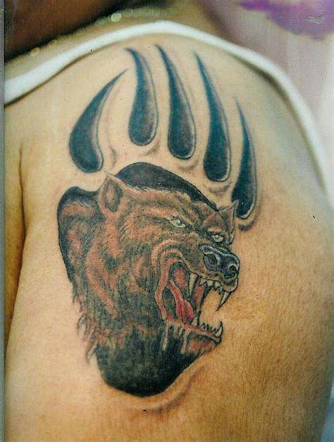25 adorable bear claw tattoo designs creativefan
