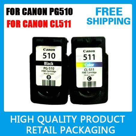 reset ink canon ip2700 4 x ink cartridge pg510 cl511 for canon ip2700 mx350 mx330