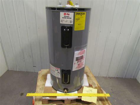 Water Heater Merk Rheem rheem eld40 b commercial electric water heater 240v 3ph 40