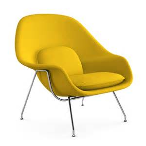 yellow chair with ottoman womb chair and ottoman cato yellow chair only by knoll