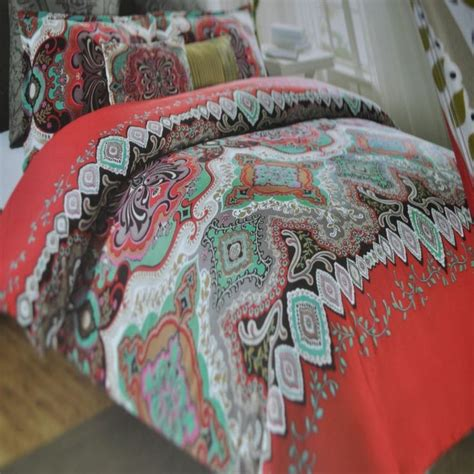 New 6p Comforter Set King Max Studio Moroccan Medallion
