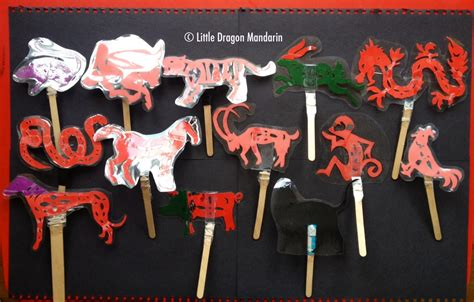 new year shadow puppet templates year of the rooster thinglink
