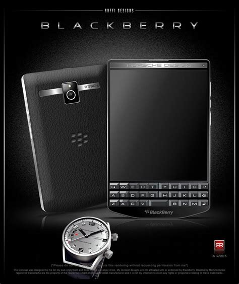 Blackberry Porsche Design by Blackberry Porsche Design P 9984 Envisioned As Concept