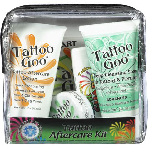 tattoo aftercare kit tattoo goo body art aftercare kit walmart com