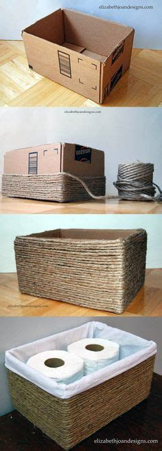 decorar cajas de carton con hilo m 225 s de 100 ideas fabulosas de manualidades con cajas de