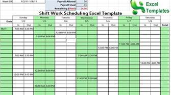 excel templates for scheduling shift work scheduling excel template scheduling template