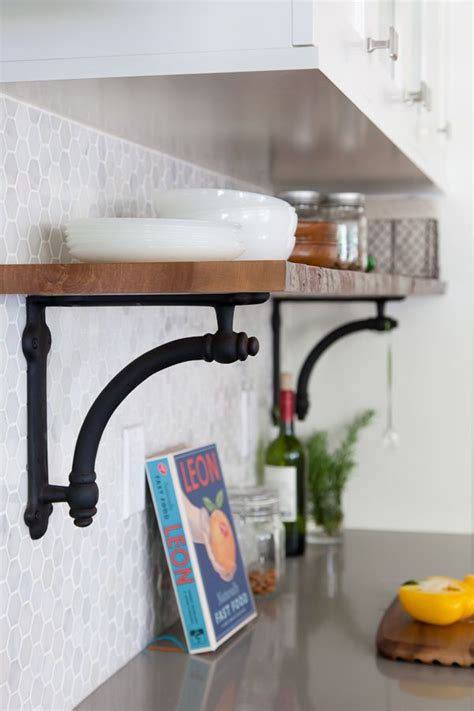 kitchen cabinet shelf hardware 25 best ideas about shelf brackets on pinterest shelves