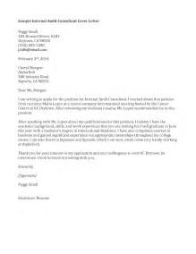 Audit Cover Letter by Interesting Cover Letter Sles For Management And
