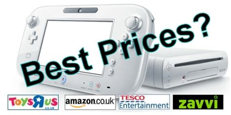 wii console best price wii u best prices wii u news