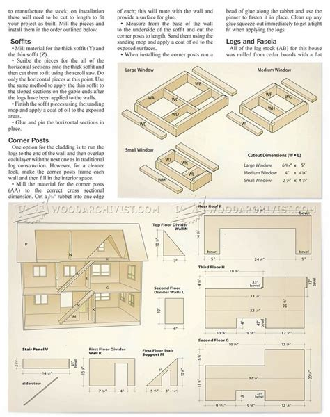wooden dolls house plans best 25 doll house plans ideas on pinterest