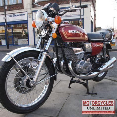 Vintage Suzuki Motorcycles For Sale 1977 Suzuki Gt380 Classic Suzuki For Sale Motorcycles