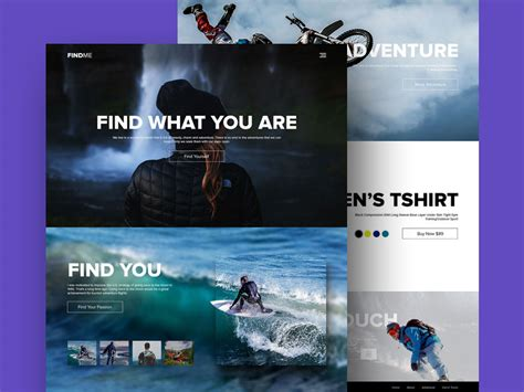 Free Adventure And Sports Website Template Psd At Freepsd Cc Adventure Website Templates