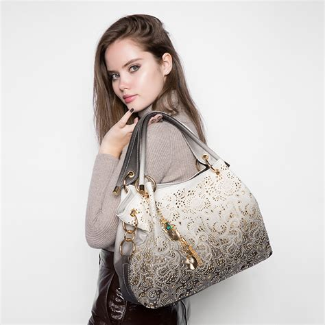 Tas Tote Bag Wanita Grey tas selempang wanita printed flower light gray jakartanotebook