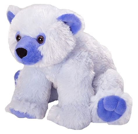 wild republic blue polar bear 12 quot plush cuddlekins vibes