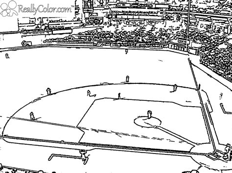 Baseball Field Coloring Page Laborious Yet Gratifying Game Baseball 18 Baseball by Baseball Field Coloring Page