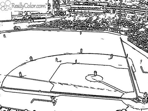 Laborious Yet Gratifying Game Baseball 18 Baseball Baseball Field Coloring Page