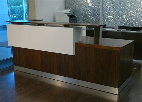 custom made reception desk crafted duch reception desk contemporary